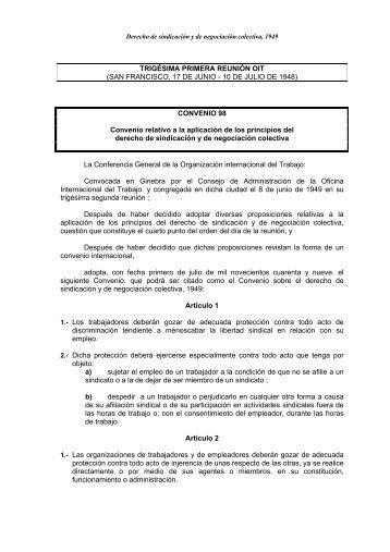 Convenio OIT - Monovardigital