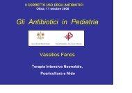 scarica l'intervento del professor Vassilios Fanos - Sardegna Salute