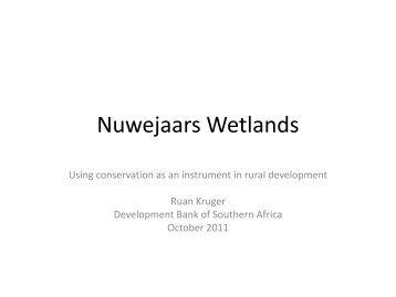 Nuwejaars Wetlands