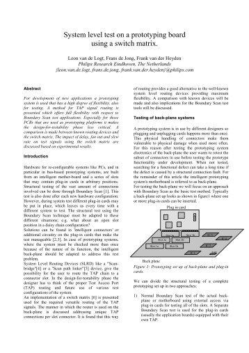 BTW-ITC 2002 - Board Test Workshop Home Page