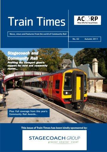 Stagecoach and Community Rail – - Association of Community Rail ...