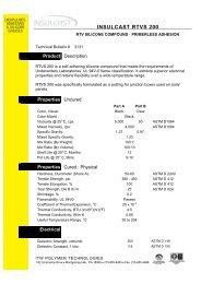 RTVS 200 Data Sheet - EIS