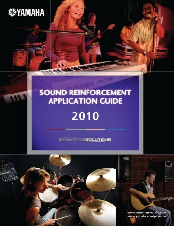 SR Application Guide 2010 - Yamaha Commercial Audio