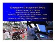Emergency Management Tools