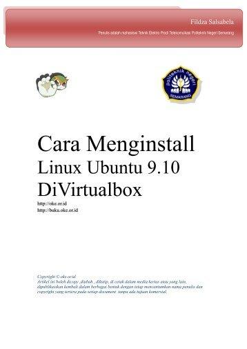 Cara Menginstall Linux Ubuntu 9.10 - Open Knowledge and ...