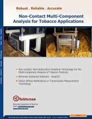 Tobacco Applications - Brimrose Corporation of America