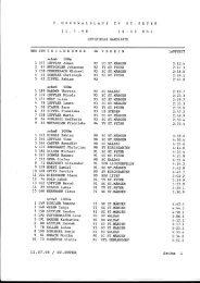 Ergebnislisten 1998 - beim TV St. Peter