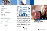 Der Sozialdienst – professionelle Beratung und individuelle ...