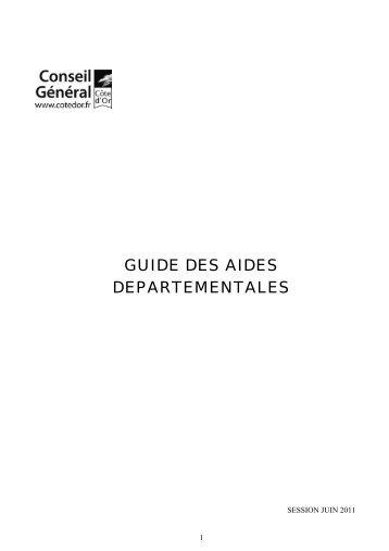 Toutes commissions n° 1 - Conseil général de Côte-d'Or