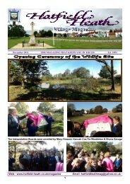 November2011 Edition - Hatfield Heath Village Magazine