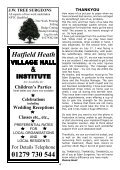 November2011 Edition - Hatfield Heath Village Magazine - Page 4