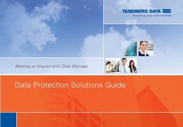 Data Protection Solutions Guide - Tandberg Data