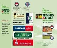 Tennis &GOlF - Freiburger Tennisclub eV