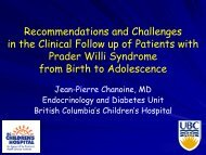 Recommendations and Challenges in the Clinical Follow up of ...