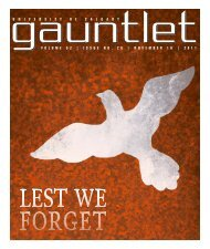 PDF Edition - The Gauntlet