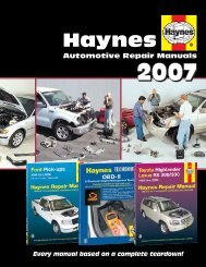tt oo - Haynes Repair Manuals