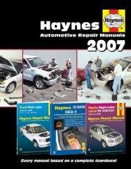 tt oo - Haynes Repair Manuals