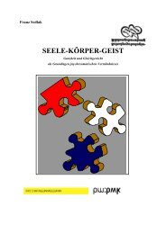 SEELE-KÖRPER-GEIST - Schulpsychologie