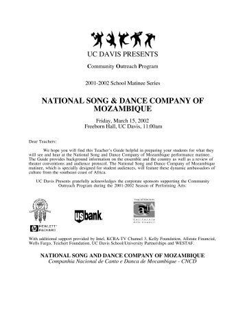 National Song and Dance Company of Mozambique