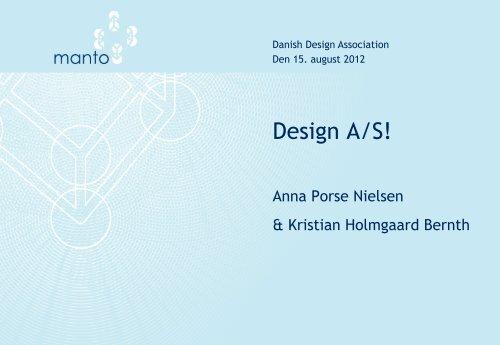 Design A/S! - Danish Design Association