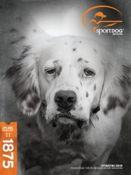 SportDOG Upland Hunter 1875 User Manual - Sporting Dog Pro