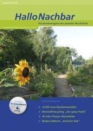 Horlache Park - gewobau Rüsselsheim