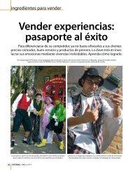 Vender experiencias: pasaporte al éxito - Catering.com.co