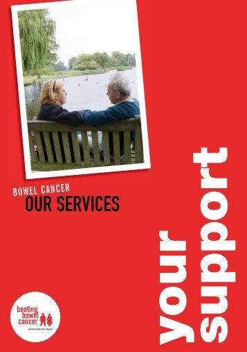 Our Services - Your Support'. - Beating Bowel Cancer