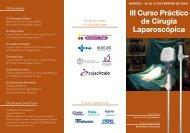 III CURSO CIRUGIA (FOLLETO) - Congresos Médicos