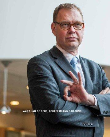 Portret Aart Jan de Geus - Verbond van Verzekeraars