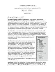 UW Hazard Identification and Vulnerability Assessment (PDF)
