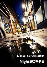 NightSCOPE - manual (FR) - Club Health