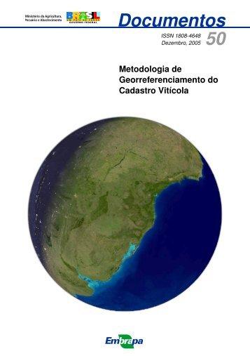 Metodologia de Georreferenciamento do Cadastro Vitícola