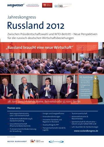 Russland braucht eine neue Wirtschaft