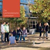 LG Broschüre Inhalt.indd - Liechtensteinisches Gymnasium