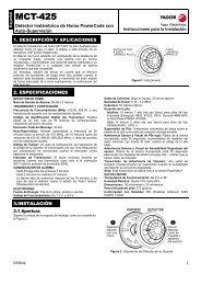 MCT-425: Detector de humo fotoeléctrico - Fagor Electrónica
