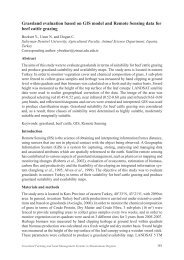 Grassland evaluation based on GIS model and Remote Sensing ...