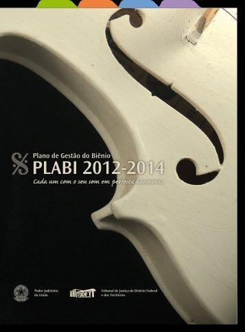 PLABI 2012-2014 - TJDFT