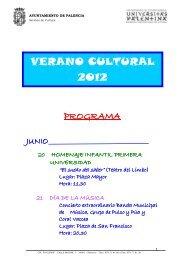 VERANO CULTURAL 2012 - Palencia Joven