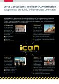 Leica iCON site - Leica Geosystems - Page 2