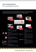 Leica iCON site - Leica Geosystems - Page 5