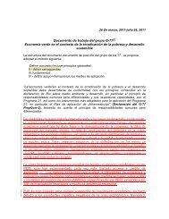 Documento de trabajo del grupo G-77[1] Economía verde en el ...