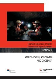 SECTION 9 ABBREVIATIONS, ACRONYMS AND GLOSSARY ...