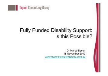 Maree Dyson - Ideaswa.net