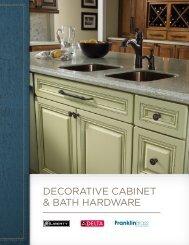 DECORATIVE CABINET & BATH HARDWARE - RTI Hotel Supply