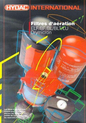 Filtres d'aération - Faure automatisme
