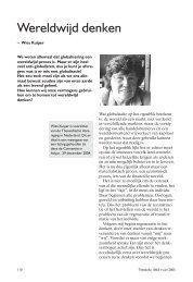 Werelwijd denken.pdf - Theosofische Vereniging in Nederland