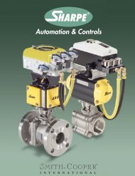 Automation and controls 0613.indd - Sharpe® Valves
