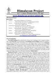 Nr. 7 - 3. årgang - Juli 2001 - Himalayan Project