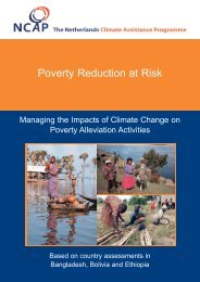 Poverty Reduction at Risk - NCAP